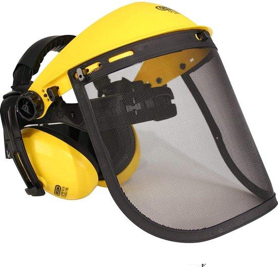 Afbeelding van Maxx Bosbouwhelm - Gelaatsscherm - Bosmaaier - veiligheidsset 3 delig