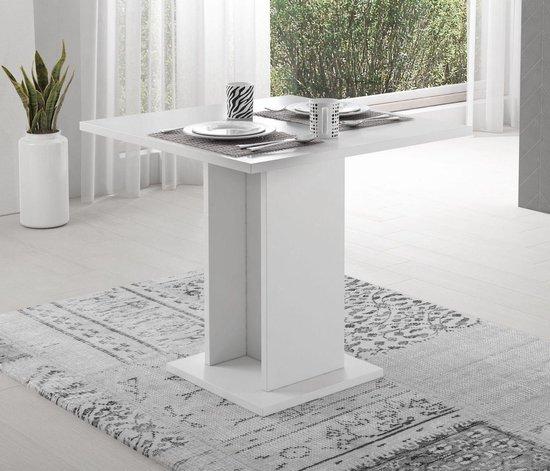 Meubella - Eetkamertafel Vox - Wit - 79 cm