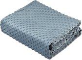 Kustaa Minky Dot hoes - Hoes voor Kustaa Verzwaringsdeken - 152x203 cm - Comfortabele Hoes