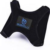 BOSVELLI A400 Posture Corrector - One Size - Met Okselpads - Houding Correctie voor Man en Vrouw - Rug Brace tegen Rugklachten -  Verstelbare Rugband