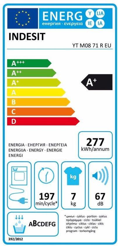 Indesit YT M08 71 R EU - Warmtepompdroger