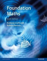 Boek cover Foundation Maths van Anthony Croft