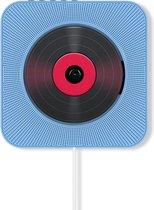 Innvision CD speler met radio en Bluetooth - Retro design - Ook voor kinderen - CD / Radio / USB / AUX / Bluetooth - Blauw