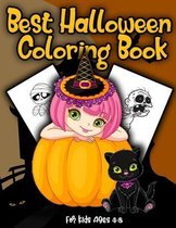 Best Halloween Coloring Book for Kids Ages 4-8