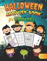 Halloween Activity Book for Toddlers