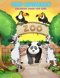 ZOO ANIMALS - Coloring Book For Kids