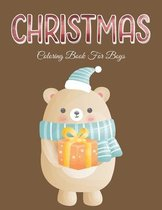 Christmas Coloring Book for Boys