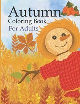 Autumn Coloring Book For Adults