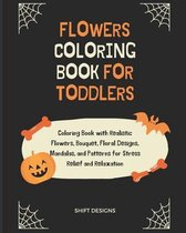Flowers Coloring Book for Toddlers