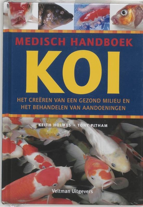Boek cover Medisch handboek Koi van K. Holmes (Hardcover)