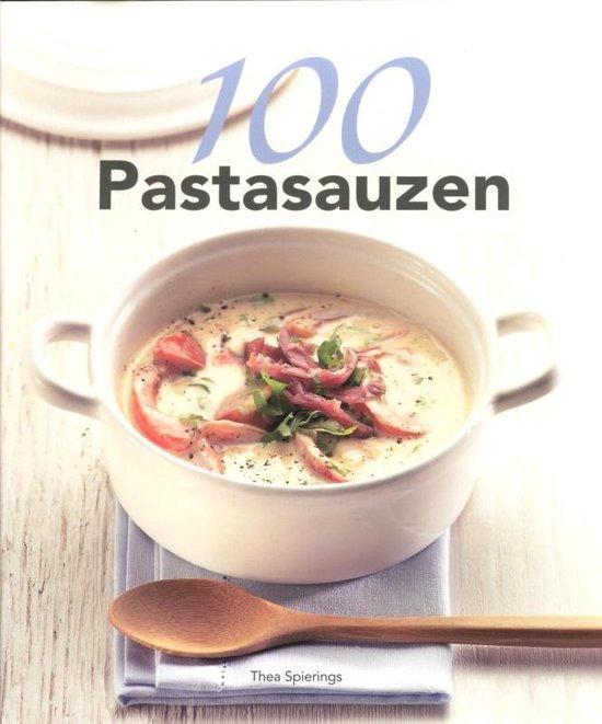 Cover van het boek '100 Pastasauzen' van T. Spierings