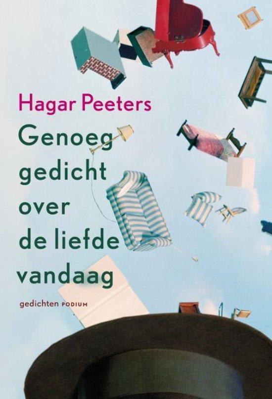 Boek cover Genoeg gedicht over de liefde vandaag van Hagar Peeters (Paperback)
