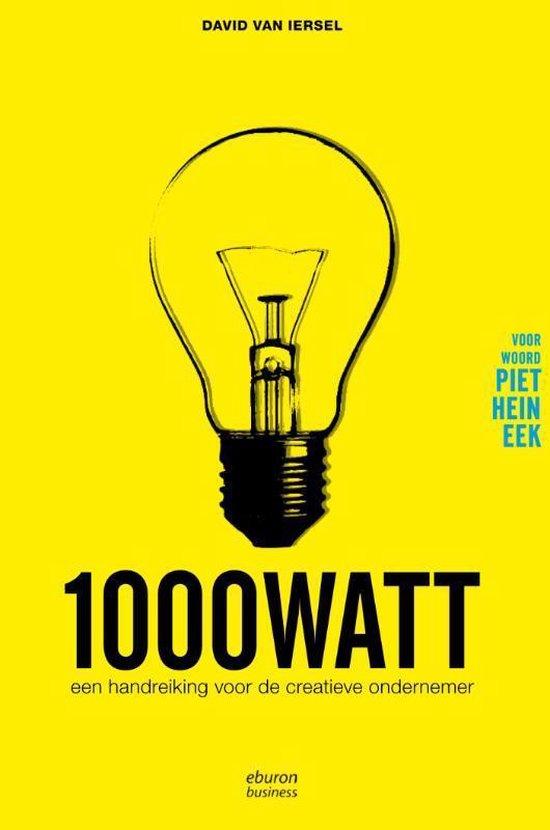 Cover van het boek '1000 watt' van David van Iersel