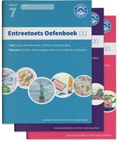 Boek cover Entreetoets oefenboek compleet 1, 2 en 3 van
