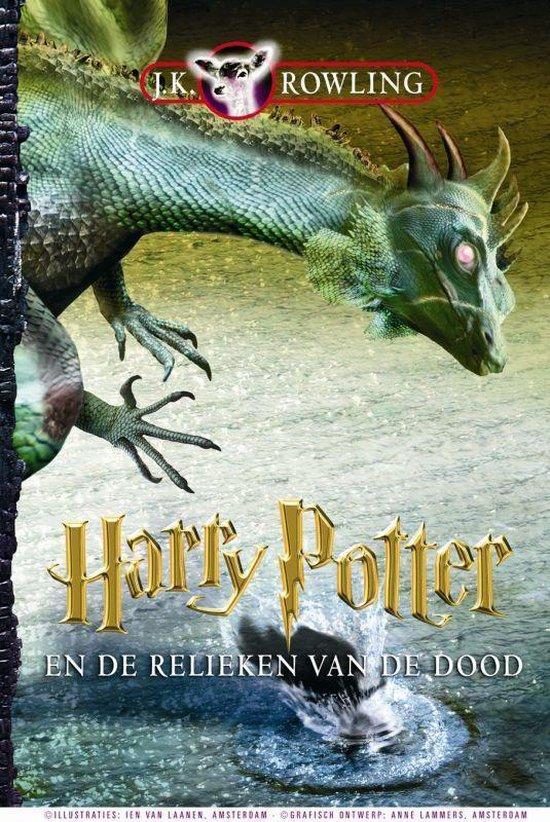 Boek cover Harry Potter 7 -   Harry Potter en de relieken van de dood van J.K. Rowling (Hardcover)
