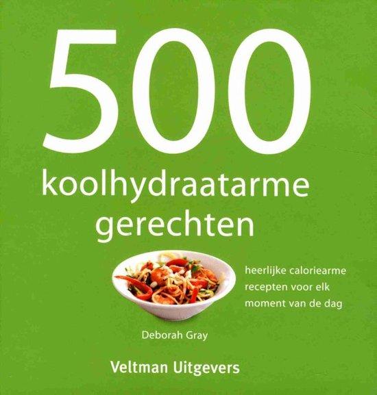 Omslag van 500 koolhydraatarme gerechten
