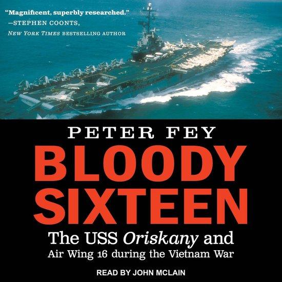Boek cover Bloody Sixteen van Peter Fey (Onbekend)