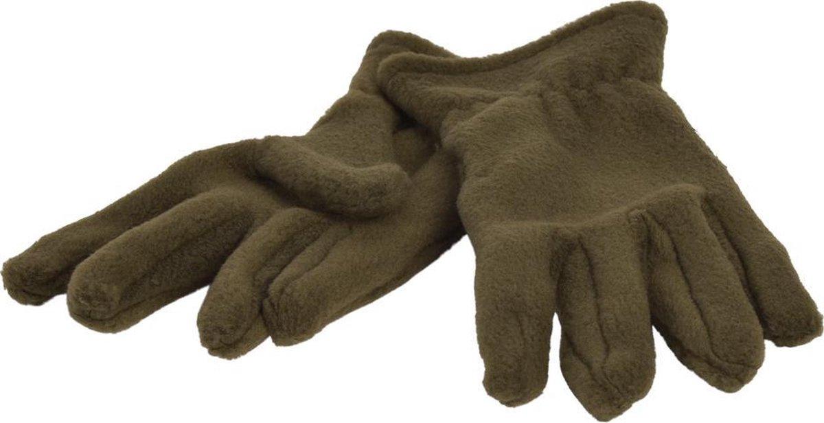 Handschoenen Fleece - Kakki - 5-6j