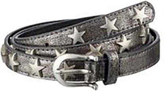 Damesriem Fashion – Zwart Metallic met Sterren – 95 cm