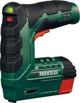 Tacker - Nietpistool - Spijkerpistool - Elektrisch spijkerpistool - Handtacker - Nagelpistool - Oplaadbare accu - 2000 nietjes - 500 spijkers - nietpistool met nietjes