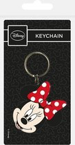Sleutelhanger - Disney: Minnie Mouse - rubber - metalen ring