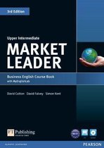 Boek cover Market Leader 3rd Edition Upper Intermediate Coursebook with DVD-ROM and MyLab Access Code Pack van David Cotton (Onbekend)