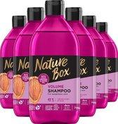 Nature Box Almond Shampoo 6x 385 ml - Voordeelverpakking