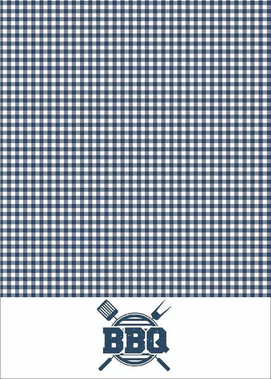 Clarysse Theedoek BBQ Blauw 50x70cm