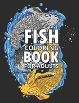 Fish Coloring Book for adults