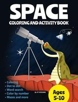 Space Coloring and Activity Book