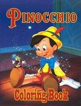 Pinocchio Coloring Book