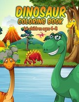 Dinosaur Coloring Book for Children ages 4-8