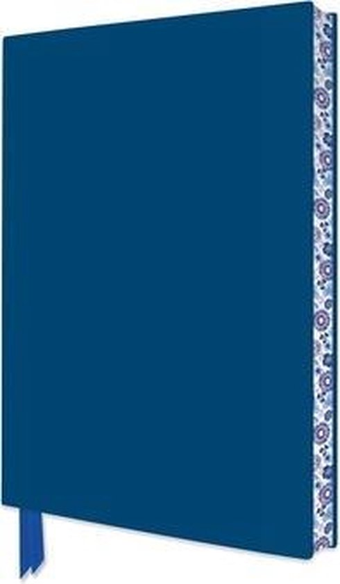 Mid Blue Artisan Notebook (Flame Tree Journals)