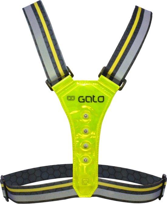 Gato Sports Pro LED Reflectievest - Hardloopverlichting