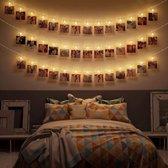 Lighty LED foto lichtsnoer - lichtslangen - Fotoslinger met verlichting - 3M - Warm wit - Op batterijen