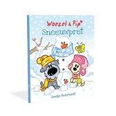Boek cover Woezel & Pip  -   Sneeuwpret van Guusje Nederhorst (Hardcover)