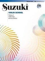 Suzuki Violin School, Vol 2 : Violin Part, Book & CD