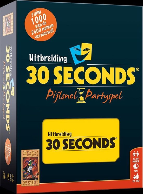 30 Seconds Uitbreiding - Bordspel - 999 Games