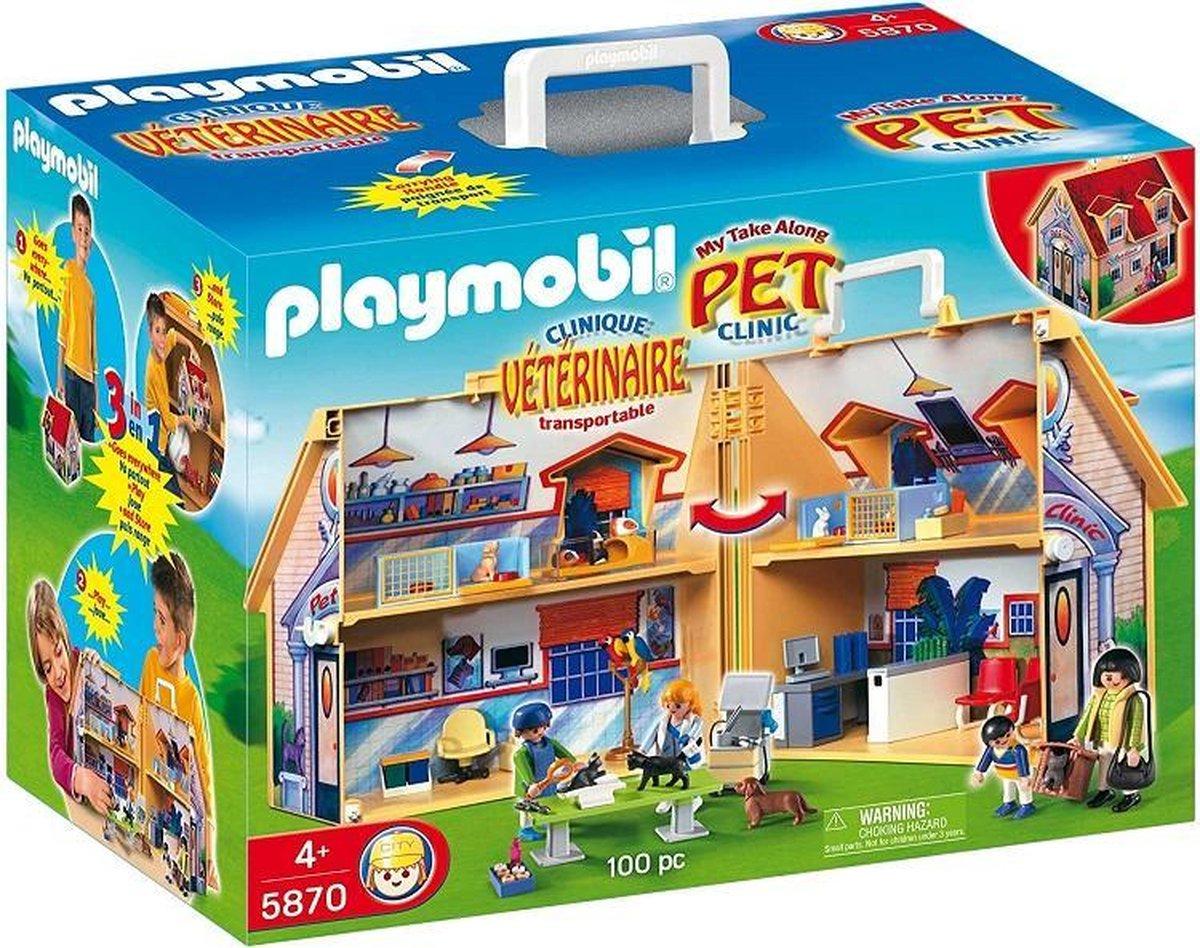 Playmobil dierenkliniek 5870