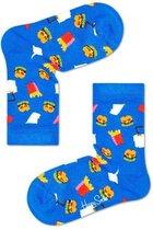 Happy Socks Kids Hamburger Sock Blauw