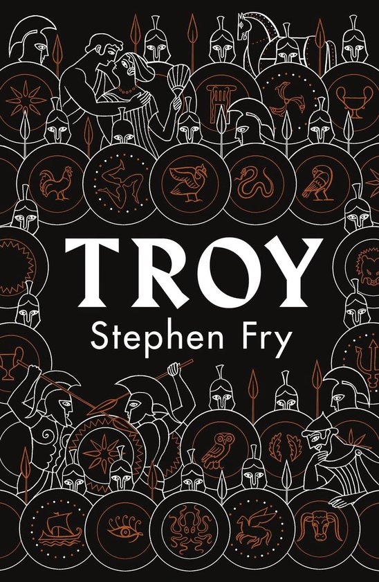 Boek cover Troy van Stephen Fry (Paperback)