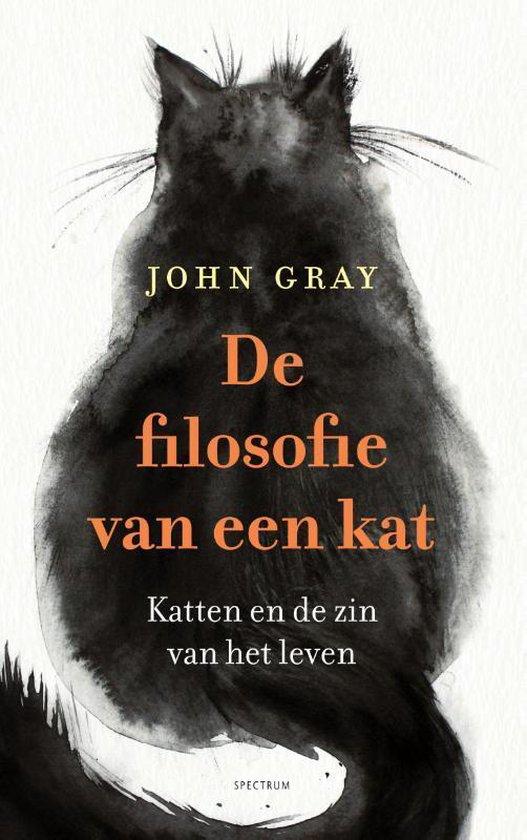 Boek cover De filosofie van een kat van John Gray (Hardcover)
