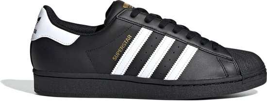 adidas Superstar Heren Sneakers - Core Black/Ftwr White/Core Black - Maat 44