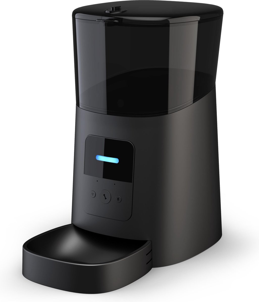Qeasy Automatisch Voerbak - Voerdispenser Met Applicatie - WiFi - Stemrecorder - Katten - Honden - Z