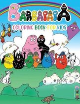 Barbapapa Coloring Book For Kids