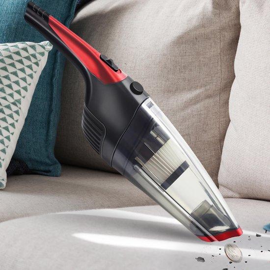 Handstofzuiger Draadloos- Vacuum Cleaner- Handstofzuiger Met Steel- Handstofzuiger Zonder Zak- Kruimelzuiger- Vast en Vloeibaar Vuil- Kruimeldief- Snoerloos
