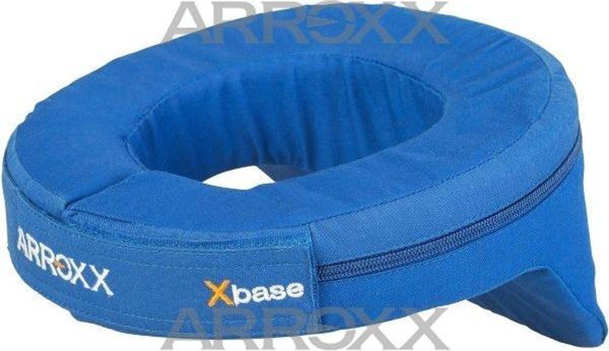 Arrox nekbeschermer voor in de auto en kart (blauw)