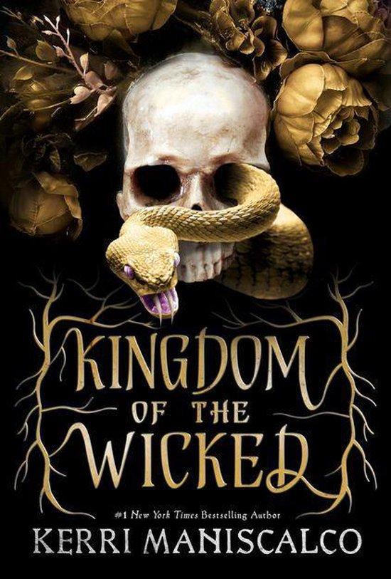 Boek cover Kingdom of the Wicked van Kerri Maniscalco (Onbekend)