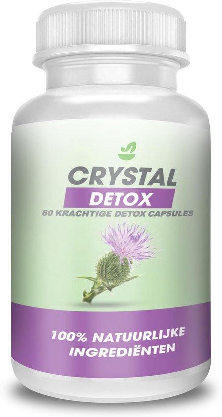 Crystal Detox Kuur - Afvallen Binnen 30 Dagen - 60 krachtige capsules