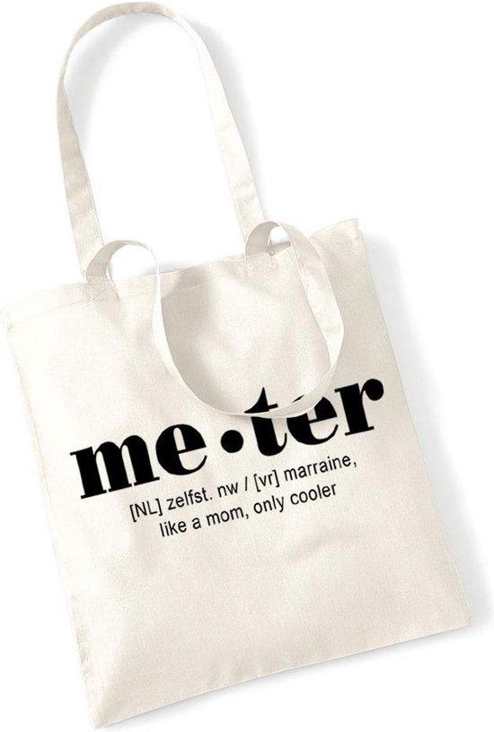 Meter - cadeau - shopping bag - draagtas